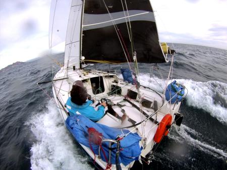 navegando en el mediterráneo