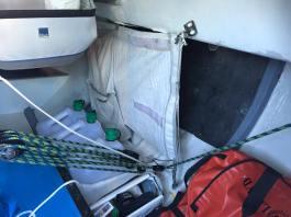 L'interieur du bateau